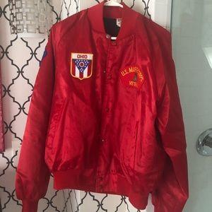 Vintage marines bomber jacket